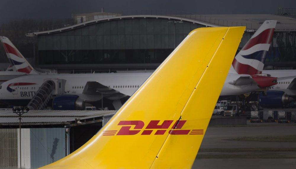 DHL ser till att paketen levereras till rätt plats i rätt tid