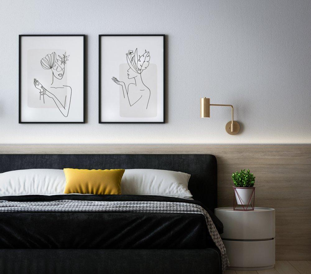 Affischer erbjuder ett enkelt och omväxlande sätt att inreda sitt hem